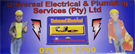 Universal Electrical and Plumbing Services